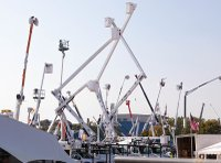 Cranes at Utility Expo