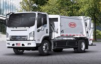 BYD battery-electric, zero-emission collection truck