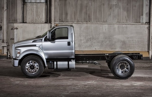 Ford 650 Cab Chassis