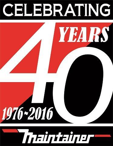 Maintainer Corporation 40 Years Logo