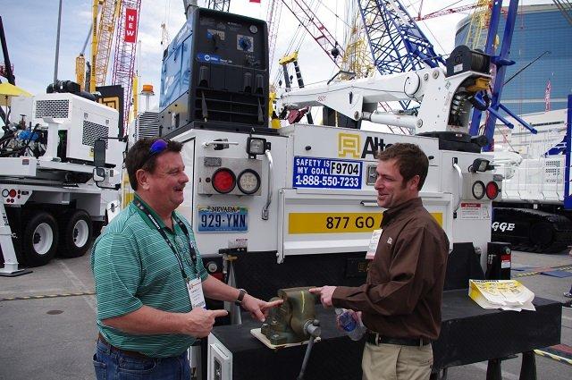 Tom Reilly and Matt Trefz at Conexpo 2014