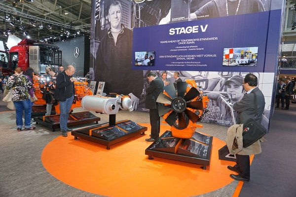Scania Engines Bauma 2016