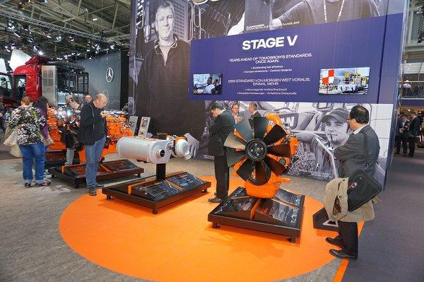 Scania Engines Bauma 2016
