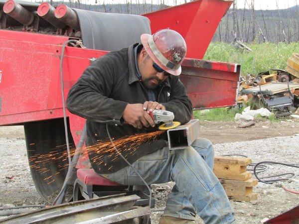 Juan Ibarra at Work