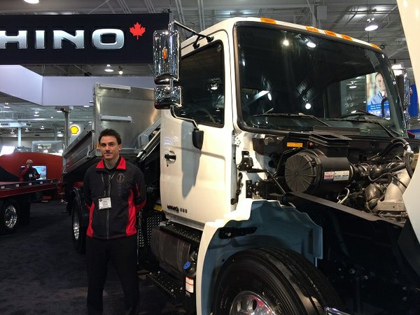 James Monteith of Hino Motors Canada