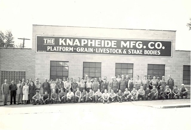 Knapheide in 1950s