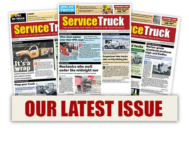 Click Here for the Latest Issue of Service Truck Magazine!
