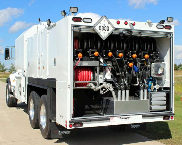 Maintainer New Lube Truck