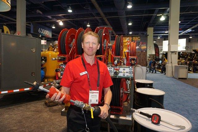 Aaron Sage, president of Sage Oil Vac