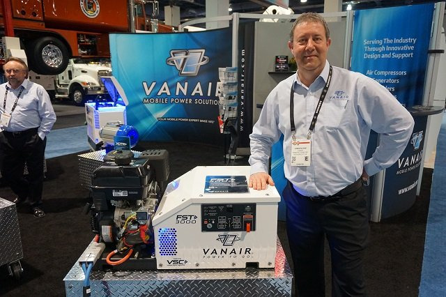 Chris Sloan, of Indiana-based Vanair Manufacturing