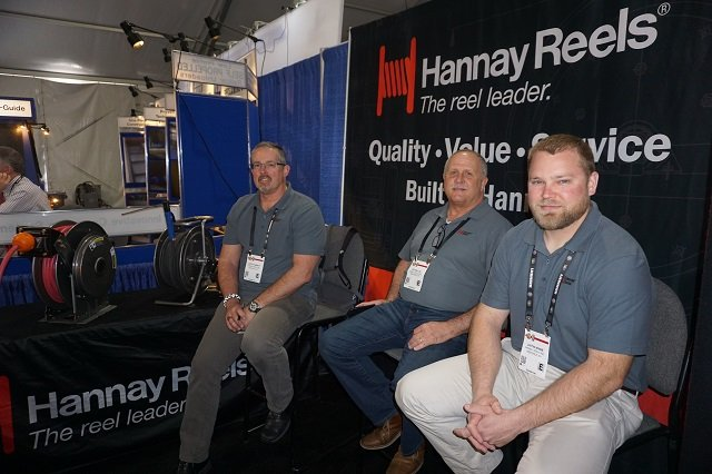 Scott Hannay, Lee Ballou, and Justine Winne — of Hannay Reels Inc