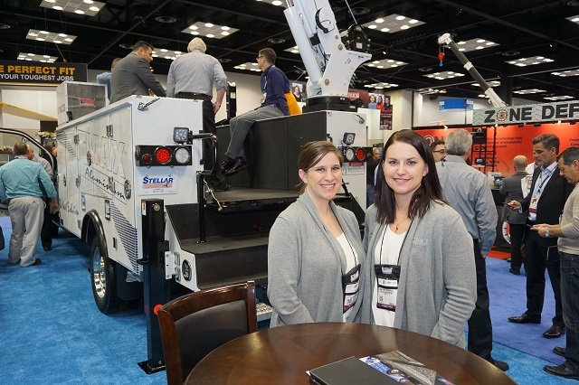 Rachel Lynch and Donna Popp-Bruesewitz of Stellar Industries
